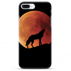 "Iphone 7 Plus / Iphone 8 Plus silicone phone case with unique design 1.0 mm ""u-case airskin Nature 3 design"""