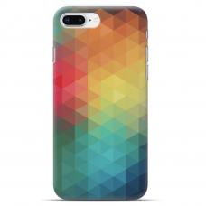 """Iphone 7 Plus / Iphone 8 Plus Unique Silicone Case 1.0 mm 1.0 mm """"u-case airskin Pattern 3 design"""""""