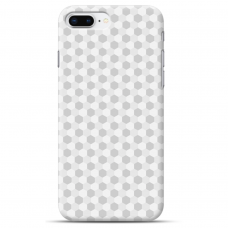 "Iphone 7 Plus / Iphone 8 Plus silicone phone case with unique design 1.0 mm ""u-case Airskin Pattern 5 design"""