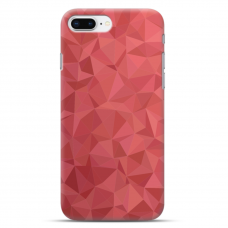 "Iphone 7 Plus / Iphone 8 Plus silicone phone case with unique design 1.0 mm ""u-case Airskin Pattern 6 design"""