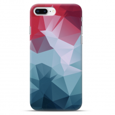 "Iphone 7 Plus / Iphone 8 Plus silicone phone case with unique design 1.0 mm ""u-case airskin pattern 8 design"""