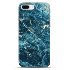 "Iphone 7 Plus / Iphone 8 Plus silicone phone case with unique design 1.0 mm ""u-case airskin PAW design"""