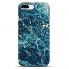 """Iphone 7 Plus / Iphone 8 Plus Unique Silicone Case 1.0 mm """"u-case airskin Marble 2 design"""""""