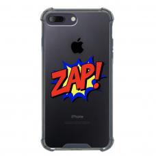 """Iphone 7 Plus / Iphone 8 Plus Unique Silicone Case 1.0 mm 1.0 mm """"u-case airskin ZAP design"""""""