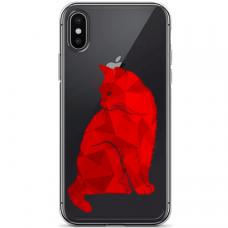 "Iphone XR silicone phone case with unique design 1.0 mm ""u-case airskin Doggo 1 design"""