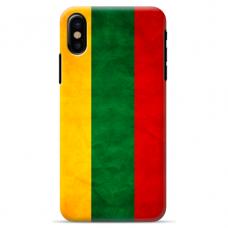 "Iphone XR silicone phone case with unique design 1.0 mm ""u-case Airskin Lietuva design"""