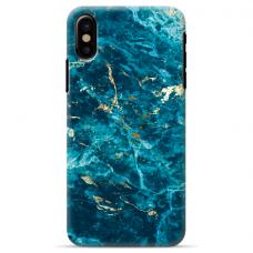 "Iphone XR silicone phone case with unique design 1.0 mm ""u-case Airskin Marble 2 design"""