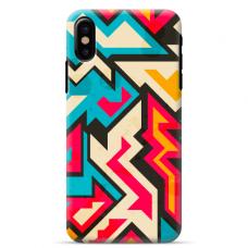 "Iphone XR silicone phone case with unique design 1.0 mm ""u-case Airskin Pattern 7 design"""