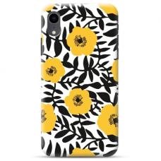 "Iphone XR Unique Silicone Case 1.0 mm ""u-case Airskin Flowers 2 design"""