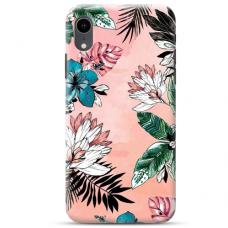 "Iphone XR Unique Silicone Case 1.0 mm ""u-case Airskin Flowers 1 design"""
