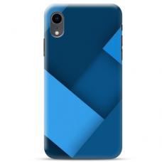 """Iphone XR Unique Silicone Case 1.0 mm """"u-case Airskin Blue design"""""""