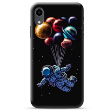 "Iphone XR Unique Silicone Case 1.0 mm ""u-case Airskin Cosmo design"""
