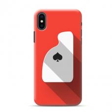 """Iphone XR Unique Silicone Case 1.0 mm """"u-case Airskin Ace design"""""""
