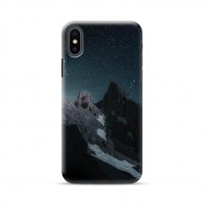 "Iphone XR Unique Silicone Case 1.0 mm ""u-case Airskin Mountains 1 design"""
