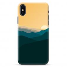 "Iphone XR Unique Silicone Case 1.0 mm ""u-case Airskin Mountains 2 design"""