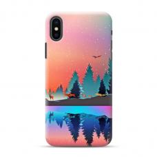 """Iphone XR Unique Silicone Case 1.0 mm """"u-case Airskin Nature 5 design"""""""