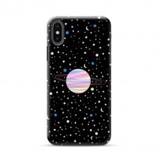 "Iphone XR Unique Silicone Case 1.0 mm ""u-case Airskin Planet design"""