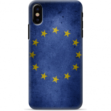 "Iphone Xs MAX silicone phone case with unique design 1.0 mm ""u-case Airskin EU design"""