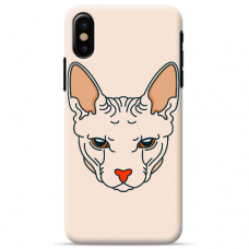 "Iphone Xs MAX silicone phone case with unique design 1.0 mm ""u-case airskin LOL design"""