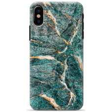 "Iphone Xs MAX silicone phone case with unique design 1.0 mm ""u-case Airskin Marble 1 design"""