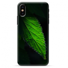 "Iphone Xs MAX silicone phone case with unique design 1.0 mm ""u-case Airskin Nature 1 design"""