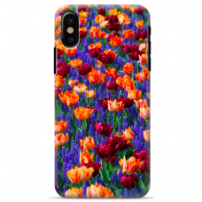 "Iphone Xs MAX silicone phone case with unique design 1.0 mm ""u-case Airskin Nature 2 design"""