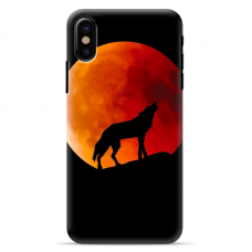 "Iphone Xs MAX silicone phone case with unique design 1.0 mm ""u-case Airskin Nature 3 design"""