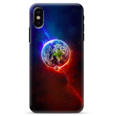 "Iphone Xs MAX silicone phone case with unique design 1.0 mm ""u-case Airskin Nature 4 design"""