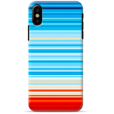 "Iphone Xs MAX silicone phone case with unique design 1.0 mm ""u-case Airskin Pattern 2 design"""