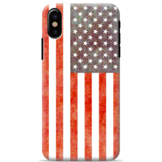 "Iphone Xs MAX silicone phone case with unique design 1.0 mm ""u-case airskin Pattern 3 design"""
