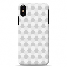 "Iphone Xs MAX silicone phone case with unique design 1.0 mm ""u-case Airskin Pattern 5 design"""