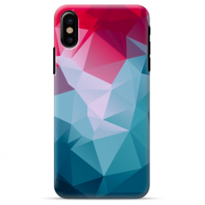 "Iphone Xs MAX silicone phone case with unique design 1.0 mm ""u-case Airskin Pattern 8 design"""