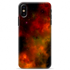 "Iphone Xs MAX silicone phone case with unique design 1.0 mm ""u-case Airskin Space 1 design"""