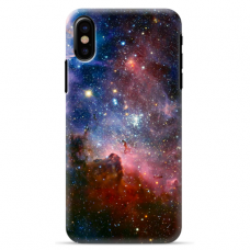 "Iphone Xs MAX silicone phone case with unique design 1.0 mm ""u-case Airskin Space 2 design"""