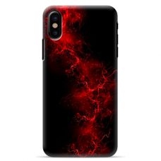 "Iphone Xs MAX silicone phone case with unique design 1.0 mm ""u-case Airskin Space 3 design"""