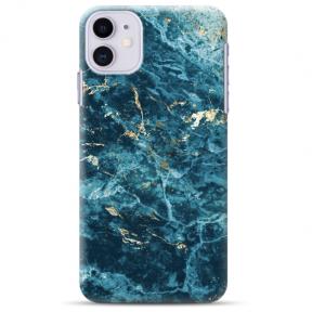 """Iphone 11 silicone phone case with unique design 1.0 mm """"u-case Airskin Marble 2 design"""""""
