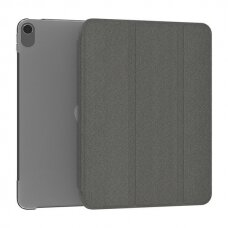 Kingxbar Business Series magnetic case cover with multi-angle stand and Smart Sleep function iPad Air 2020 black