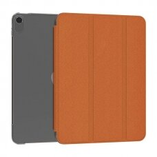 Kingxbar Business Series magnetic case cover with multi-angle stand and Smart Sleep function iPad Air 2020 orange