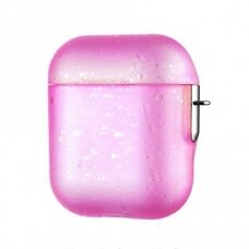 Kingxbar Nebula Airpods Case Protector for AirPods 2 / AirPods 1 pink (APAIR) (APAIR)