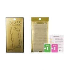 lg g7 thinq Screen protector Tempered Glass GOLD