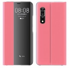 New Sleep Case Bookcase Type Case with kickstand function for Huawei P30 pink