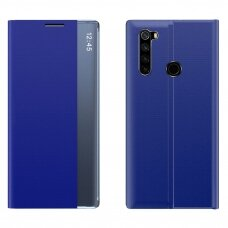 New Sleep Case Bookcase Type Case with kickstand function for Xiaomi Redmi Note 8T blue
