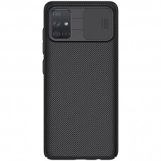 Nillkin CamShield Case Slim Cover with camera protection shield for Samsung Galaxy A51 black