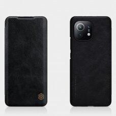Nillkin Qin original leather case cover for Xiaomi Mi 11 black