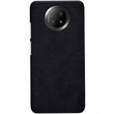 Nillkin Qin original leather case cover for Xiaomi Redmi Note 9T 5G black