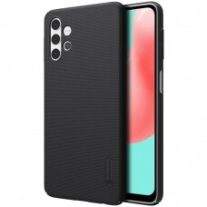 Nillkin Super Frosted Shield Case + kickstand for Samsung Galaxy A32 4G black