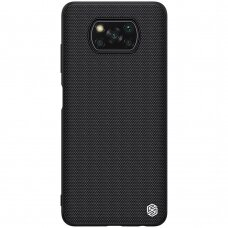 Nillkin Textured Case rugged cover with gel frame and nylon on the back Xiaomi Poco X3 NFC / Poco X3 Pro black