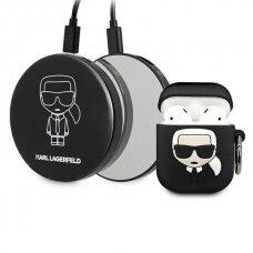 Original Karl Lagerfeld Case KLBPPBOA2K AirPods case + Power Bank Ikonik