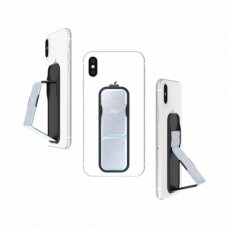 Phone holder CLCKR Grip and Stand 34295 Universal Holographic, S silver