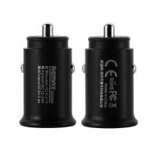 Remax Roki Series Car Charger RCC219 Mini Universal Car Charger 2x USB 2.4A black (HUTL) (hutl)